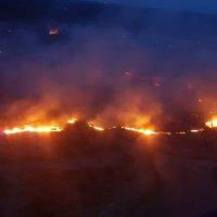 Incêndio no Sul da França destrói hectares de floresta