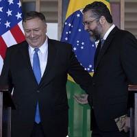 Secretário de Estado norte-americano chega ao Brasil