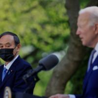 Biden e Suga do Japão projetam unidade contra a assertividade da China