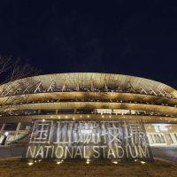Instalações esportivas temporárias para os Jogos de Tóquio estão quase concluídas